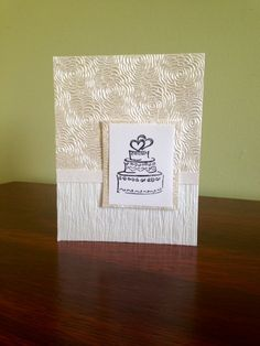 Wedding Card by TheCraftedButterfly on Etsy