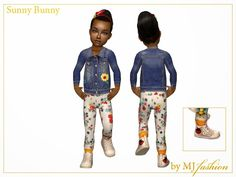 Sims2City: Sunny Bunny.Kids collection.