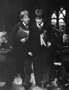 Harry Potter and the Philosopher's Stone ron and harry