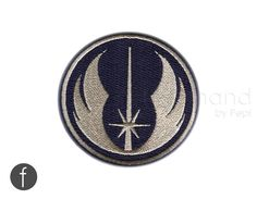 """jedi fighter Insignia Iron On Patch 3"""""""