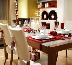 50 Amazing Table Decoration Ideas for Valentines Day Christmas Decorations For The Home, Christmas Table Settings, Christmas Home, Cheap Christmas, White Christmas, Dinner Table, A Table, Deco Table Noel, Best Mothers Day Gifts