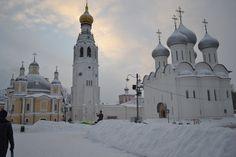 Старинный русский город Вологда
