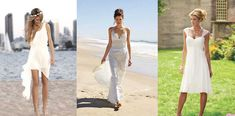 casual beach wedding dresses - Google Search