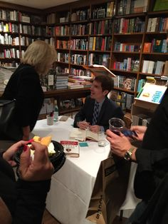 "Books and Books @ Coral Gables Feb 18th for the book talk about God""s Bankers! It was a full house!"