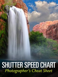 Shutter Speed Chart Infographic graphically illustrates the various aspects of shutter speed and its relationship to controlling motion and exposure in our photos.