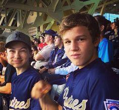 Gavin Macintosh and Hayden Byerly