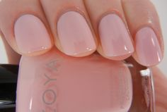Zoya Nail Polish Custom Color in Ballet Babe for Zang Toi SS14