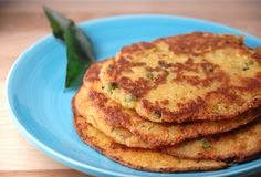 Adai (Savory Indian lentil pancake)