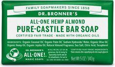 Organic Pure Castile Bar Soap | Dr. Bronner's