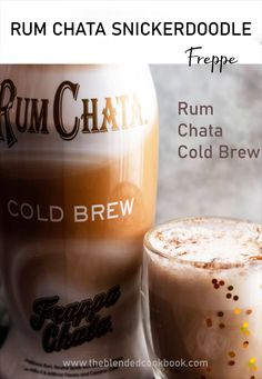Festive Cocktails, Cocktail Drinks, Rumchata Recipes, Blended Drinks, Cinnamon Coffee, Snicker Doodle Cookies, Slushies, Frappe, Cold Brew
