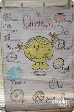 Here's a terrific post with a number of shape anchor charts.