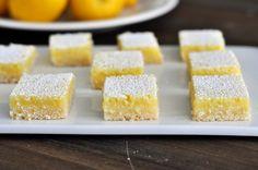 Perfect Lemon Bar Recipe. Always A Crowd Pleaser!