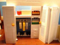 Amazing Lego closet!