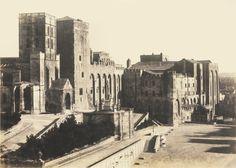 Palais des Papes 1853. Ph. Charles Nègre