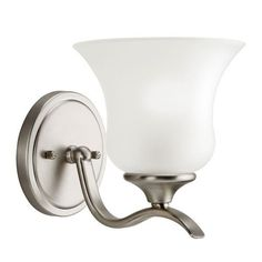 Wedgeport Brushed Nickel One-Light Wall Sconce