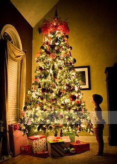 The most awesome Christmas shot I think I've ever seen! I totally want to do this and send the family a postcard of it!
