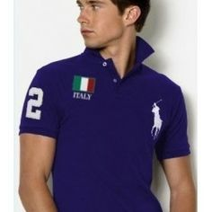Welcome to our Ralph Lauren Outlet online store. Ralph Lauren Mens Flag Polo T Shirts on Sale. Find the best price on Ralph Lauren Polo. Polo Ralph Lauren, Ralph Lauren Custom Fit, Polo Shirt Outfits, Polo T Shirts, Camisa Polo, Roberto Cavalli, Ralph Luaren, Polo Noir, Neue Trends