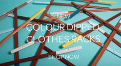 Colour Dipped Clothes Racks