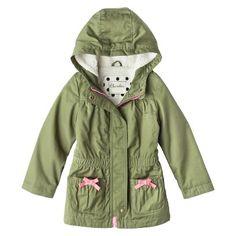 Infant Toddler Girls' Overcoat - Leaf 12 M Toddler Girl Outfits, Kids Outfits, Toddler Girls, My Beautiful Daughter, Girl Fashion, Fashion Design, Military Jacket, Baby Kids, Autumn Fashion