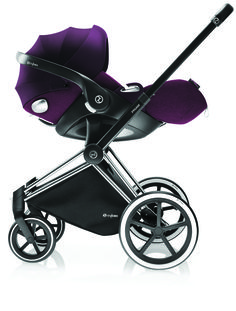 Cybex Priam Travel System with the Cybex Cloud Q car seat. Transport your baby…