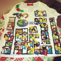 "Hilarious ""ugly sweater"" depicting the United Way of Greater Milwaukee office!"