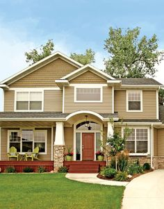 Vinyl siding on pinterest home siding vinyl siding and for Different color of house paint