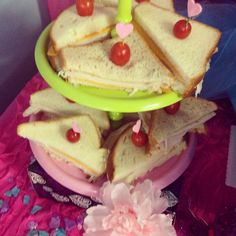 Tea party sandwiches www.jolasjoyfulevents.com 408 south Atlanta street Roswell ga 30075 770-609-5474