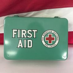 13 Vintage First Aid Kits Ideas First Aid First Aid Kit Aid Kit