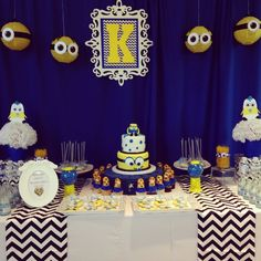 73 best minion baby shower images ideas party minion birthday rh pinterest com