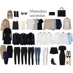 Minimalistic wardrobe: Career woman
