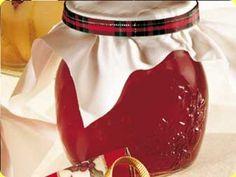 gelatina di lamponi