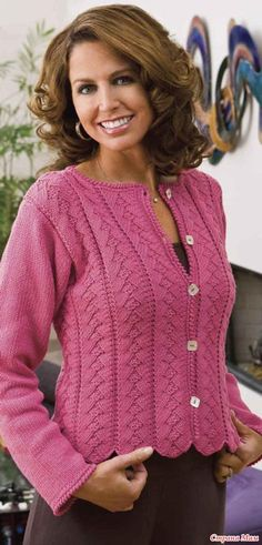 Knitting - Patterns for Wearables - Cardigan Patterns - Pink Pique Knitting Patterns Free Dog, Knitting Designs, Knit Patterns, Cardigan Design, Cardigan Pattern, Knit Cardigan, Winter Mode Outfits, Winter Fashion Outfits, Creative Knitting