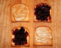 The Perfect Peanut Butter and Jelly Sandwich