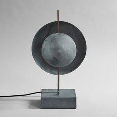 Dusk Table Lamp by 101 Copenhagen Industrial Style Furniture, Scandinavian Living, Hotel Suites, Reception Areas, Lamp Bases, Danish Design, Light Table, Timeless Design, Dusk