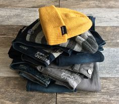 New jeans! And wide variety of cute, cozy beanies!!