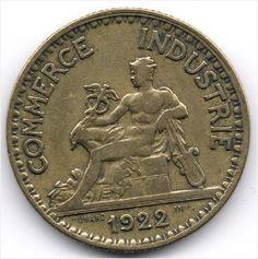 France 2 Francs 1922 Veiling in de Frankrijk,Europa (niet of voor €),Munten,Munten & Banknota's Categorie op eBid België