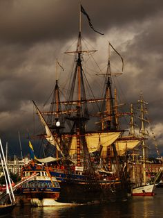 "mustaleski: "" Sweden's Sassy Ship @ Tall Ship Race 2013 *In da Navy* """