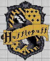 Hufflepuff embroidery pattern by ~Ronjaliek on deviantART