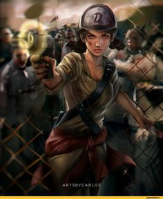 Clementine,the walking dead game