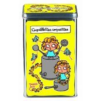 Une jolie boîte pour conserver les coquillettes ou les petits paniers !