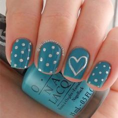 60+ stylish polka dot nail art designs you won't miss