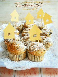 Muffin, Gingerbread, Desserts, Food, Tailgate Desserts, Deserts, Ginger Beard, Essen, Muffins