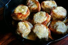 Pork Tenderloins with Cheese and Bacon