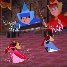 Make it blue! Make it pink!