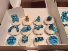 Christening cupcakes from Cakes by Nicky