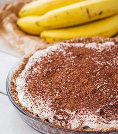 Banoffee pie Banoffee Pie, Tiramisu, Keto Recipes, Cooking Recipes, Nutella, Slow Cooker, Sweets, Ethnic Recipes, Food
