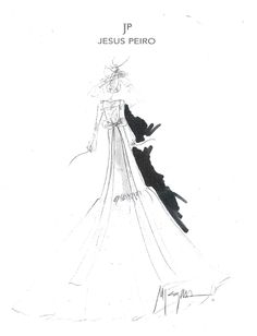 Great job, Merche!! Sketches of our new collections. JESUS PEIRO wedding dresses