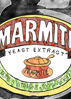 Marie Holdaway/ I am Marie vintage Marmite Jar print. Decoupage Printables, Marmite, Afrikaans, 6 Years, Sheet Music, Hate, Posters, Graphic Design, Stickers