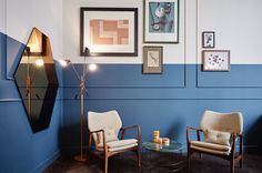 The Hoxton hotel Amsterdam room - Interior design by Nicemakers