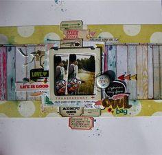 @Hannah Mestel Buddle Twist  layout, Gina R